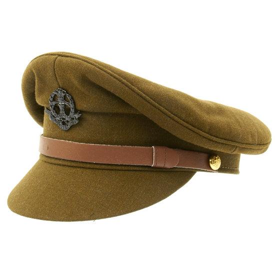 British WWII Officer Peaked Visor Cap