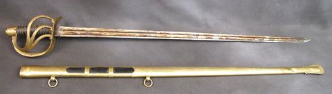 French Heavy Cavalry 18th Century Sword Scabbard
