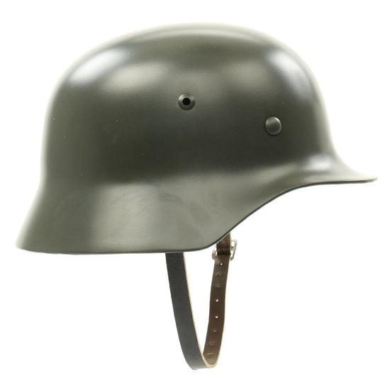 German WWII M35 Steel Helmet- Extra Large Size
