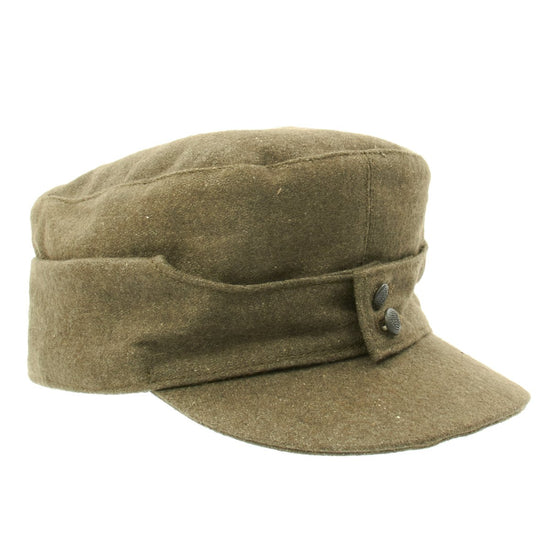 German WWII M43 Cap in Field Grey Wool New Made Items