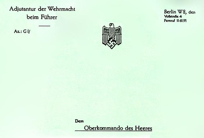 f6fb65955dc9 German Wehrmacht Note Pad: WWII