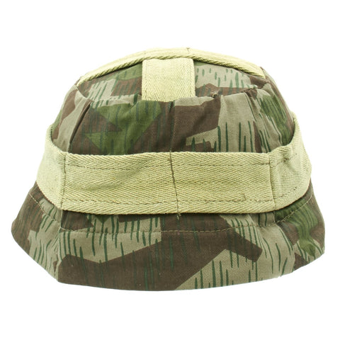 German WWII M-38 Paratrooper Splinter Camouflage Cover with Metal hooks