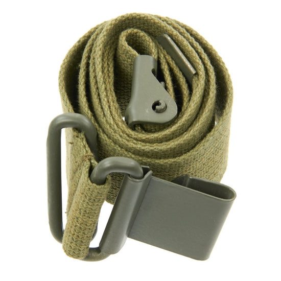 U.S. WWII M1/M1A1 Bazooka Rocket Launcher Canvas Web Sling - Green New Made Items
