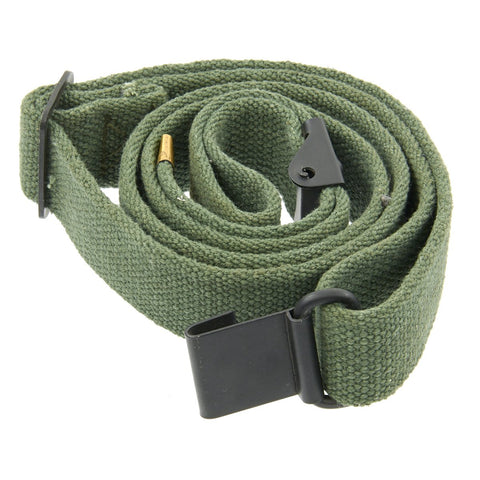 U.S. WWII M1 Garand Rifle Canvas Web Sling - GRADE 2 New Made Items