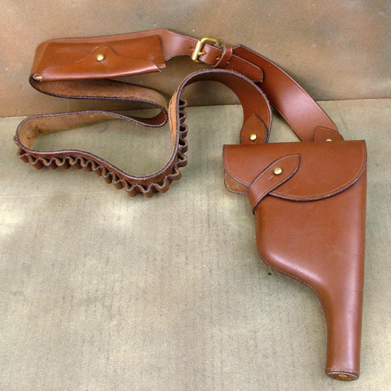 German Mauser Bolo Holster & Bandolier: WW1