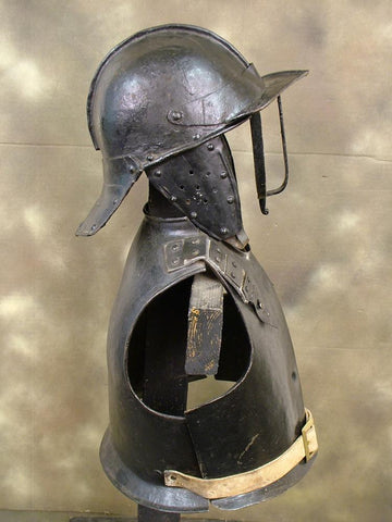 English Civil War Cavalry Troopers Armor Set: Circa 1640 ?Cromwell?s Roundheads? Original Items