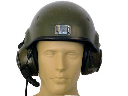 British Gulf War Tanker Helmet with Mic & Headset
