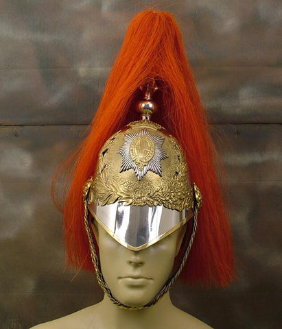 British Household Cavalry Helmet: Red (Horse Guard)