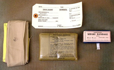 British Army WWII Medical Set
