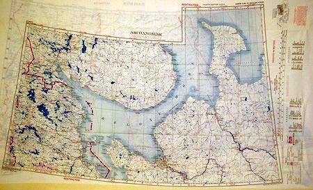 Silk Escape & Evasion Map (WW2 Era): Archangel & Namsos Original Items
