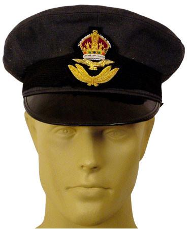 British R.A.F Officer Visor Hat: WWII Style