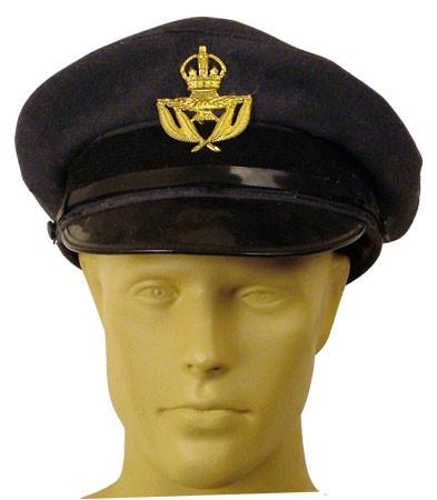 British R.A.F Warrant Officer Visor Hat: WWII Style
