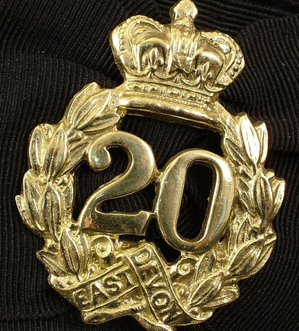British 20th Regiment Cap Badge