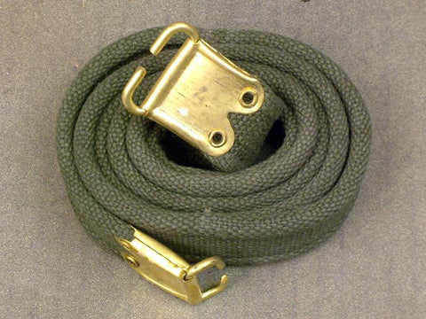 British Enfield Web OD Green Sling: Post WWII Issue