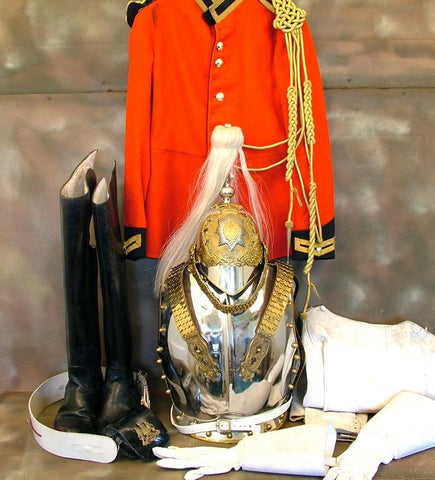 British Household Cavalry Uniform Set: Royal Life Guard