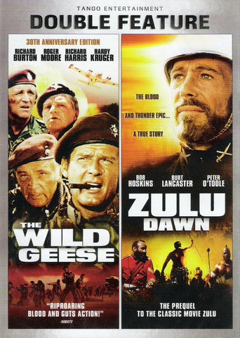 Film: Zulu Dawn & Wild Geese- DVD Double Feature