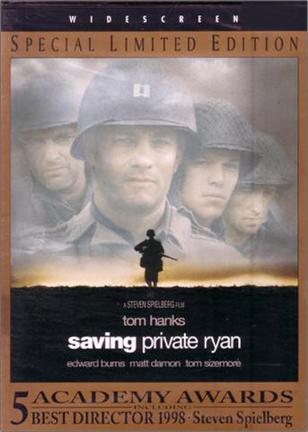 Film: Saving Private Ryan- Widescreen, Special Limited Edition (DVD)