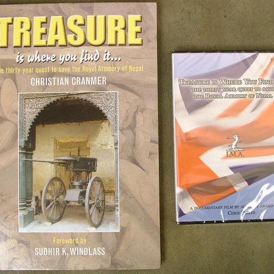 Book & DVD Combo: Treasure is Where you Find It