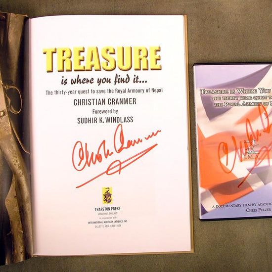 Book & DVD Combo: Treasure is Where You Find It: Signed Collector Editions New Made Items