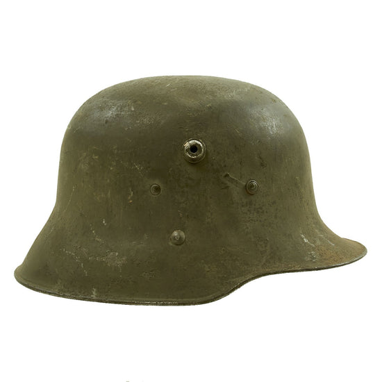 Original WWI Austro-Hungarian M17 Stahlhelm Steel Helmet - Size 64 Original Items