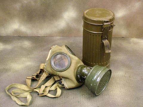 German M.30 Pattern Gas Mask in Carry Can