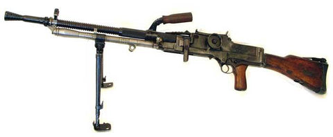 Czech ZB30 Display Machinegun Original Items