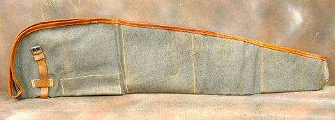 ZB Canvas and Leather Gun Cover