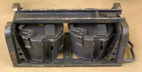 MG 34 MG 42 Belt Carrier in Tranport Frame: WWII Grey/Black