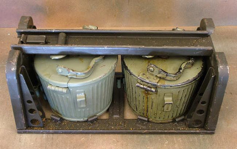 MG 34 MG 42 Belt Carrier in Tranport Frame: WWII & Post War Mix