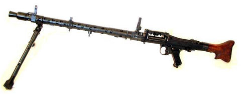 German MG 34 LMG Display Gun: WWII Original Original Items