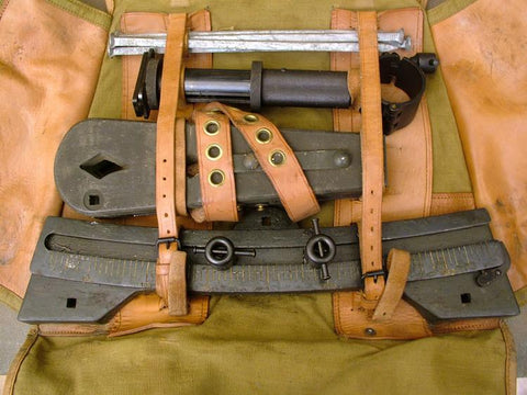 MG 34 LMG Sustained Fire Set: Pre WWII Original Items