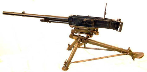 BREDA M-1937 Display 8mm Machine Gun: German WWII (No Mount)