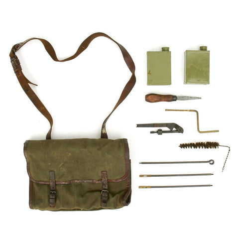 German WWII MG 42 LMG Gunner Kit Original Items