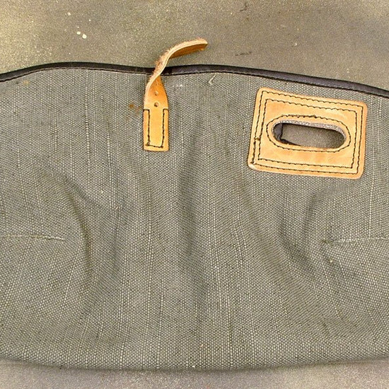 German MG 42 Canvas & Leather Action Cover: WWII Issue