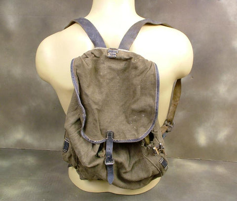 German Artillery Rucksack: Genuine WW2 Issue (GRADE 1)