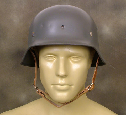 Original German WW2 Steel Helmet: M35 (Shell Size 66-68)