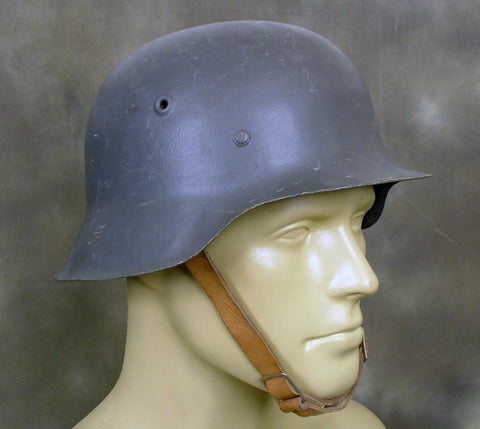 Original German WW2 Steel Helmet: M42 (Shell Size 62-64)