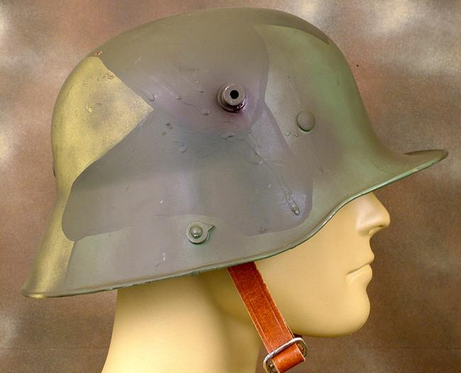 e684bda42e7 German M-1916 Coal Scuttle Stahlhelm Steel Helmet  WWI ...