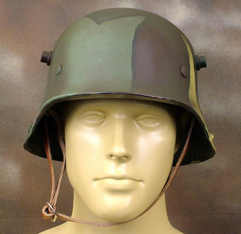 German M-1916 Coal Scuttle Stahlhelm Steel Helmet: WWI