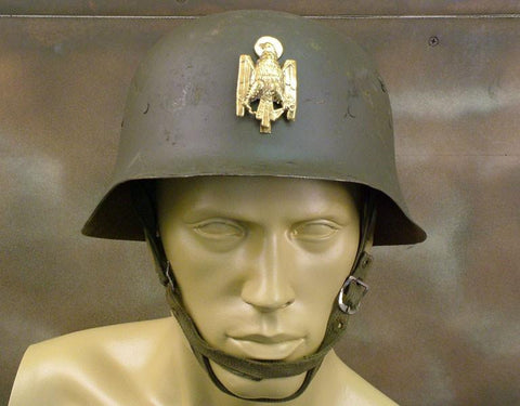 M-42 Steel Helmet of Franco?s Fascist Army: WWII