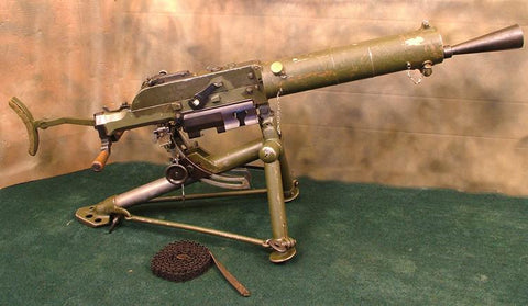 Schwarzlose Model 1907/12 Dummy Gun w/ Tripod: Excellent Original Items