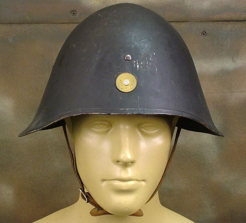 Danish Model 1923 Steel Army Helmet: WWII Issue
