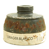 show larger image of product view 16 : Original Italian WWII M33 Gas Mask with Filter and Canister Original Items
