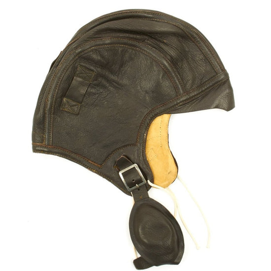 Original U.S. WWII Navy Aviator NAF 1092 Flight Helmet Original Items
