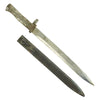 show larger image of product view 1 : Original German WWI Steel Hilt Ersatz Bayonet with Scabbard - Carter Type EB24 Original Items
