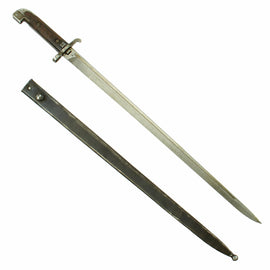 Original Swedish M1915 Naval Sword Bayonet by Carl Gustaf for M1894/14 6.5mm Mauser Carbines - Very Rare