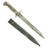 show larger image of product view 1 : Original German WWI Steel Hilt Ersatz Bayonet with 10 inch blade & Scabbard - Carter Type EB53 Original Items
