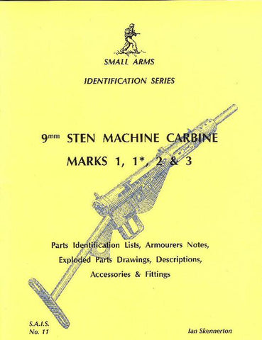 Book: Small Arms ID by Ian Skennerton: Sten SMG