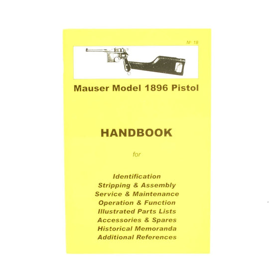 Handbook: Mauser Model 1896 Pistol New Made Items