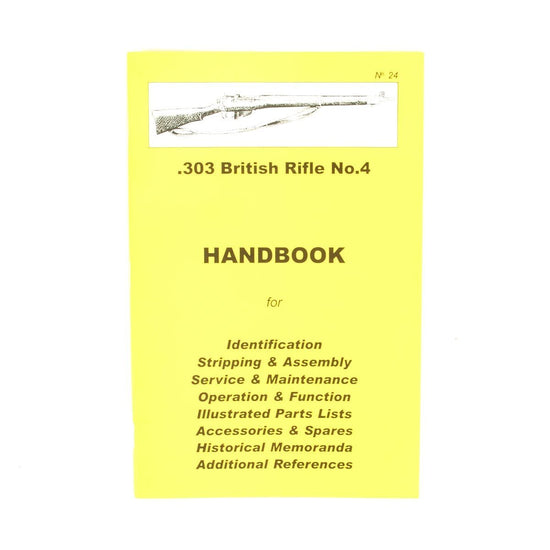 Handbook: .303 British Rifle No.4 New Made Items